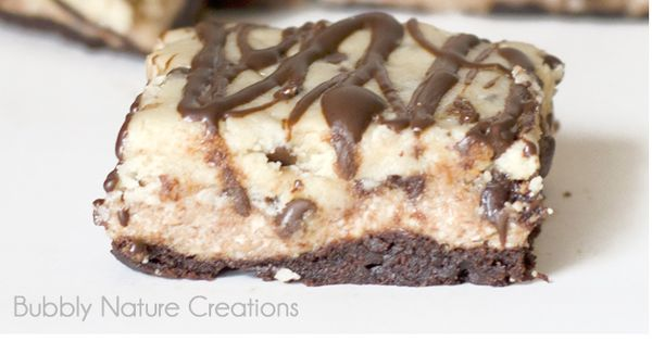 Cookie Dough Cheesecake Bars   Print Ingredients For the Brownie Layer: Betty