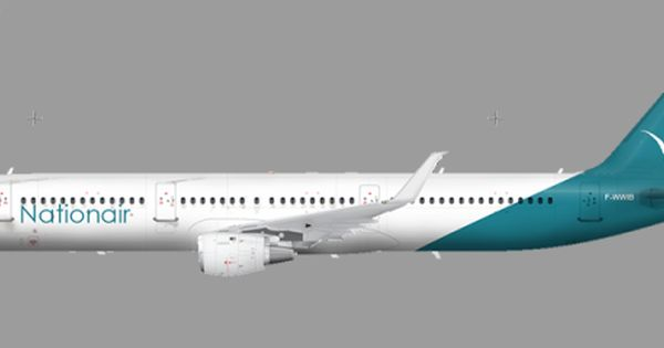 Nationair A321 100 Unzipped Design Liveries Gallery Airline Empires Aviation Design Airline