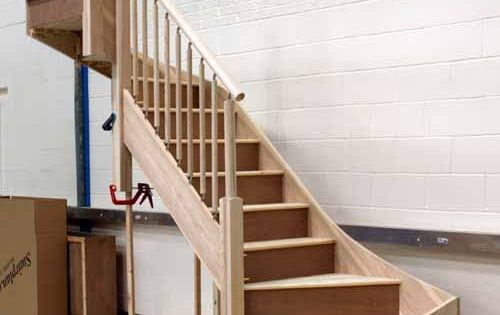 new staircase for basement stairs millmount pinterest stairs