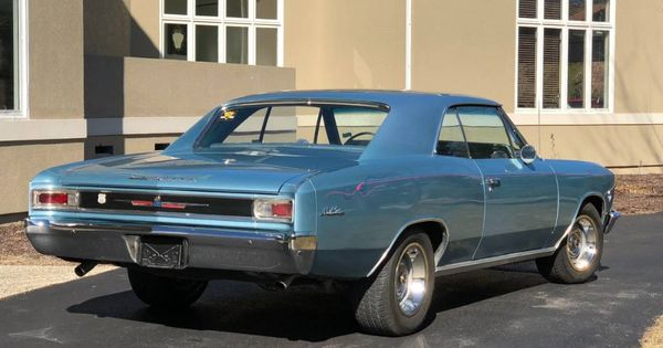Used 1966 Chevrolet Chevelle Big Block 454 Engine 4 Speed From