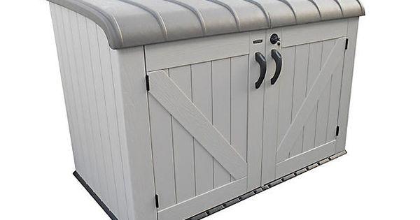 lifetime fiets en container berging bij wehkamp thuis zomer buiten pinterest gardens. Black Bedroom Furniture Sets. Home Design Ideas