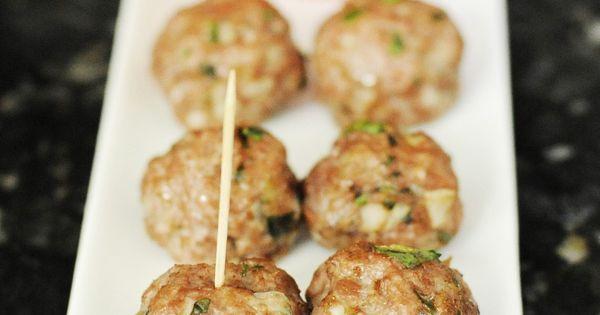 Lamb meatballs, Yogurt and Blog on Pinterest