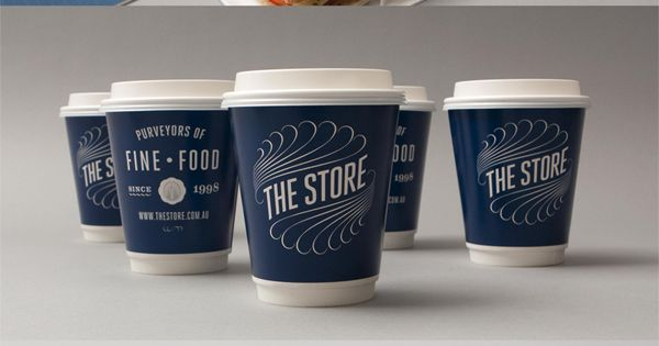 The Store Designed by Voice Design brand identity packageDesign