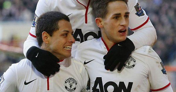 Wayne Rooney, Chicharito, and Adnan Januzaj | Manchester ...