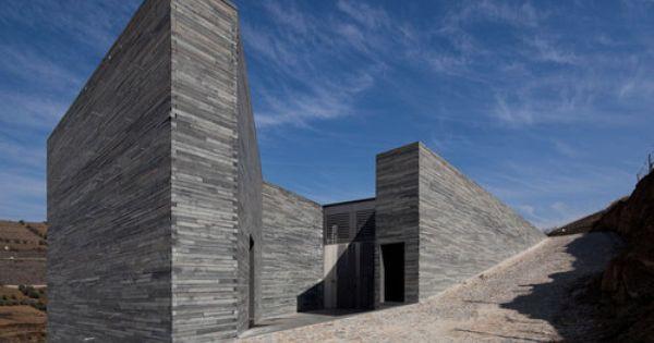Guedes De Campos Quinta Do Vallado Winery In 2020 Facade Architecture Architecture Details Architecture