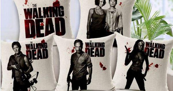 The Walking Dead Cotton Linen Pillows