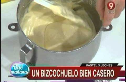 Pastel de 3 leches ariel rodriguez palacios pinterest for Cocina 9 ariel rodriguez palacios facebook