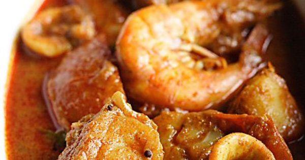 Seafood Curry Recipe (Malaysian Indian-Style) | Recipe | Seafood ...