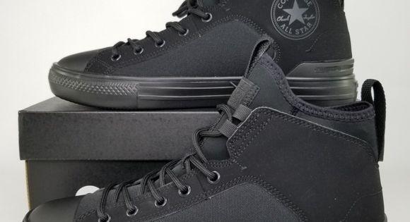 Converse Chuck Taylor Tekoa X Hi in BLACK BlackShale Grey