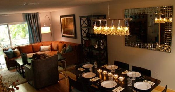 enchanting living room dining combo | living room/dining room combo for apt or small space ...