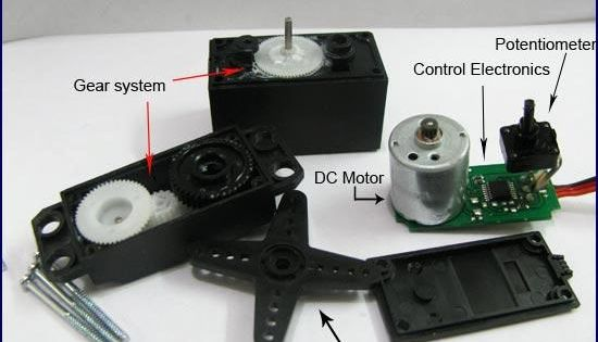 Servo motor overview electronics pinterest for Industrial servo motor tutorial