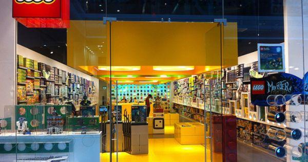 London Lego Store Lego Store Window Display Retail Lego