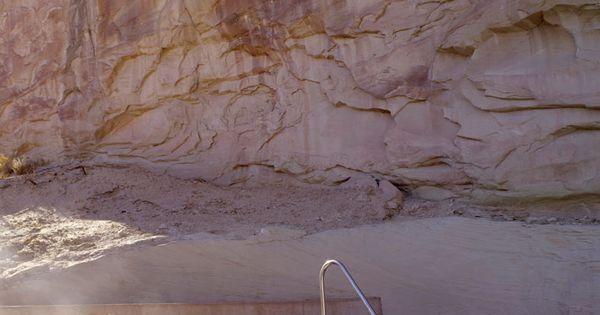 steam bath hot tub @ Amangiri Resort, Utah (Aman Resorts)