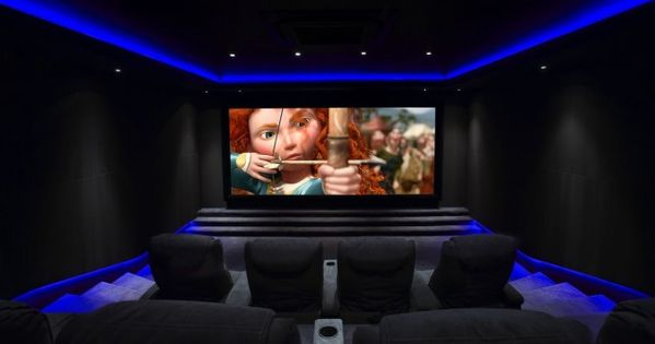 Bespoke home cinema room commissioned janes architectural there 39 s no - Home cinema 2 1 blanc ...