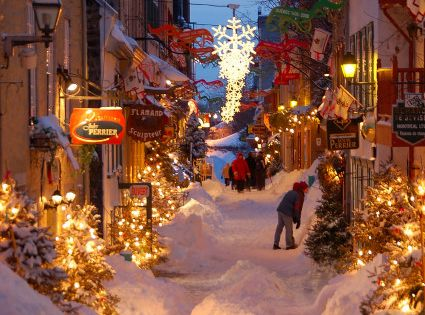Quebec City, Quebec, Canada. such a beautiful little place, like going back