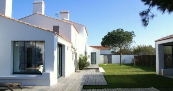 Location Vacances Villa Noirmoutier En L Ile Vue D Ensemble Du