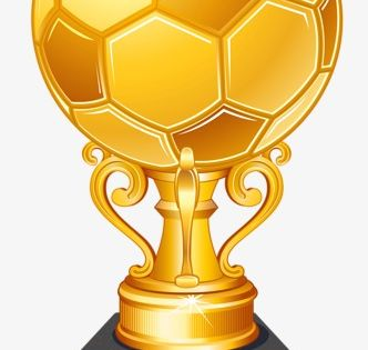 Cartoon Football Trophy Football Trophy Cartoon Png Transparent Clipart Image And Psd File For Free Download Football Trophies Football Awards Soccer Birthday