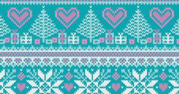 Knitting Wallpaper Iphone : Knit fairisle pattern how delicate knitting