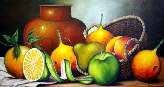 Imagenes Arte Pinturas Pinturas Al Oleo Bodegones Con Frutas