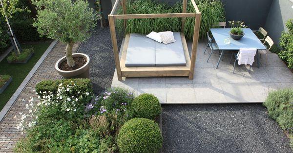Moderne tuin in hoofddorp tuinontwerp en aanleg door for Tuinontwerp door studenten
