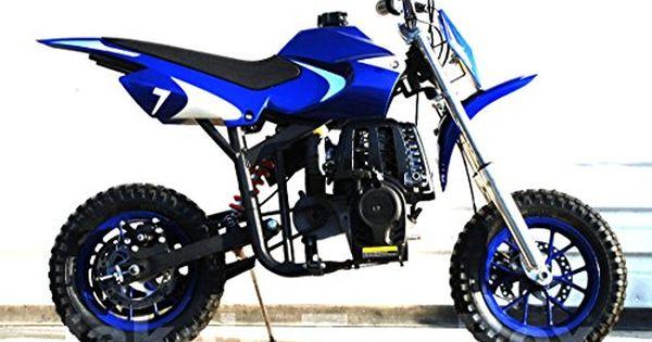 40cc Gas Powered Kids Mini Dirt Bike Blue Starmax Https Www
