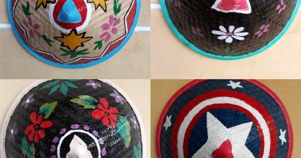 Pin Oleh Adam Suwarsono Di Topi Caping Batik Sketsa