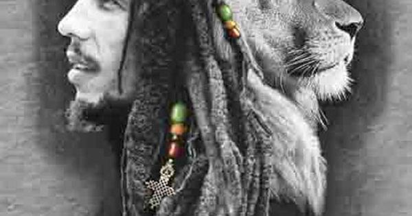 Bob Marley Lion Face Thinking This Should My Next Tattoo