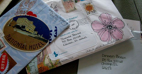 Mail art inspiration
