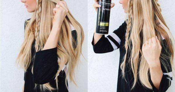 "Hippie Braids (Though ""Hippie Braids"" means ""Never using hair spray""... that just"