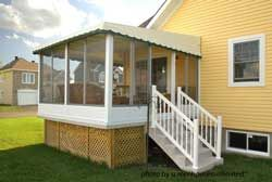 A Screen Porch Kit Is A Great Way To Make A Porch Enclosure Screen Porch Kits Porch Kits Screened Porch Designs