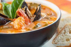 Cazuela De Mariscos Receta Mariscos Recetas De Sopa De Pescado Recetas De Sopa