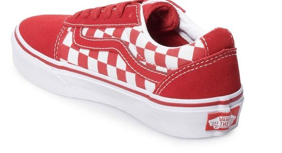Vans ward boys suede skate shoes youth