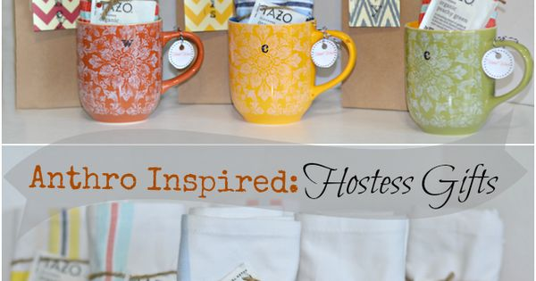 Good Hostess Gifts For Wedding Shower: DIY: Anthro-Inspired Hostess Gifts