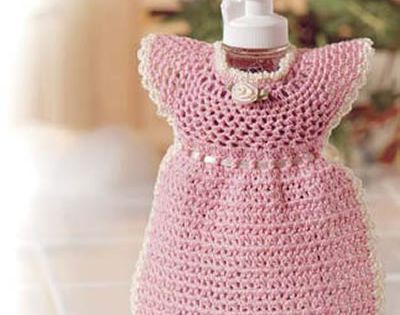 Pink Pinafore free pattern Crochet baby/ little girl ...