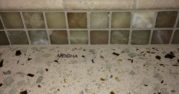 Countertop mocha from curava beach condo reno for Curava countertops