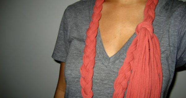 scarves out of t shirts make your own