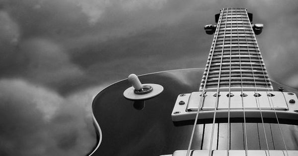 Guitar Photography Black And White Home Decor Man Cave 10x8 Print Weapon
