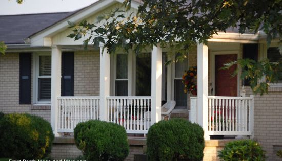 Ranch Home Porches Add Appeal And Comfort Ranch Style Homes House With Porch Porch Ideas For Ranch Style Homes