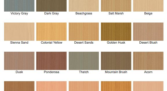 cabot stain semi solid stain color chart exterior On exterior solid color wood stain