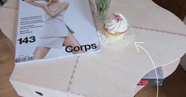 Diy table avec des ranges revues mobilier pinterest for Revue bricolage maison