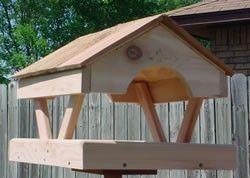 Fly Through Cedar Platform Bird Feeder Platform Bird Feeder Wood Bird Feeder Bird Houses Diy