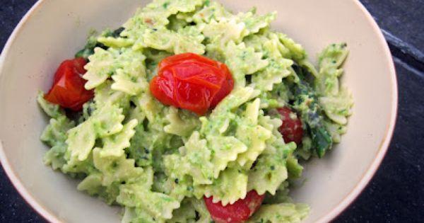 Asparagus Pesto Pasta with Roasted Tomatoes | yum | Pinterest | Pesto ...