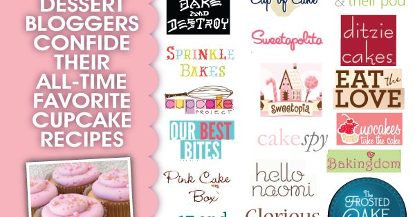 28 amazing cupcake recipes by top dessert bloggers! | See more about
