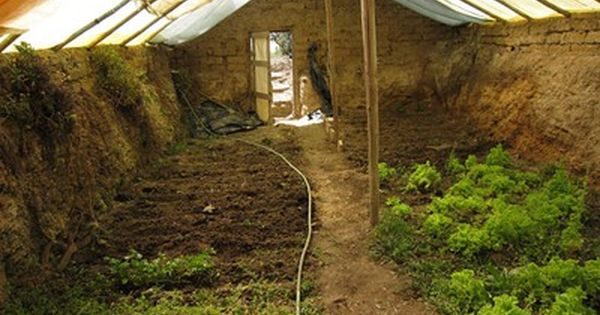 We have power when we grow our own food. By going underground