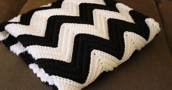 Chevron blanket pattern