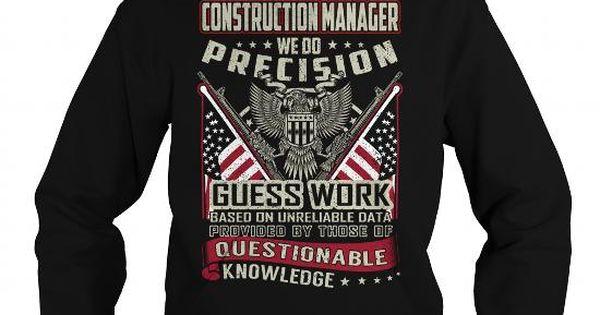 Construction Manager Job Title T-Shirt #floral tee #hoodie for - construction manager job description