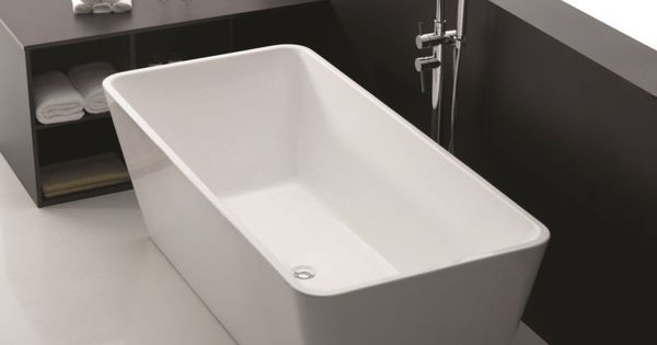 1500 x 750 x 600 longboat 1007 square bathroom freestanding acrylic