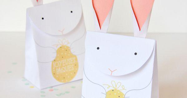 DIY de Pâques : La BunnyHouse à faire soi-même !  Sacs, DIY et ...