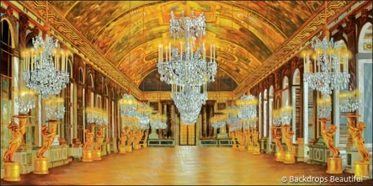 Palace Interior 7 Chandeliers Backdrop Justdance Dance