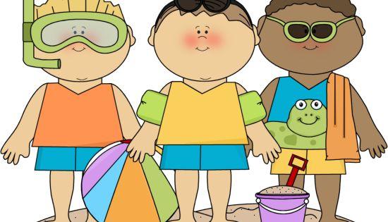SUMMER BOYS ON BEACH CLIP ART | CLIP ART - SUMMER ...